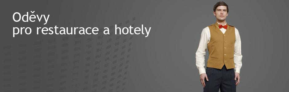 Oděvy pro hotely a restaurace